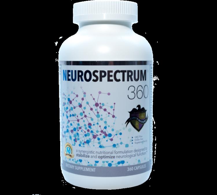 neuro spectrum, neurospectrum360, carrick institute, micronutrient, tbi vitamin, ns360